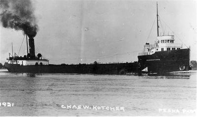 CHARLES W. KOTCHER (1908, Bulk Freighter)