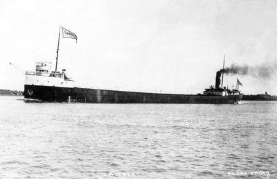 LA BELLE (1909, Bulk Freighter)