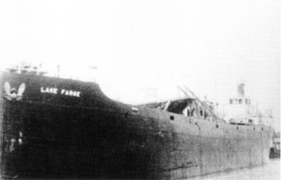 LAKE FARGE (1918, Package Freighter)