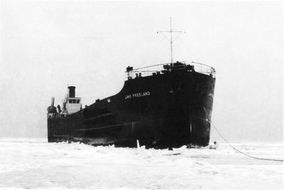 LAKE FREELAND (1918, Package Freighter)