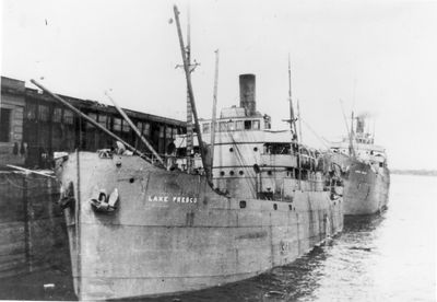 LAKE FRESCO (1919, Package Freighter)
