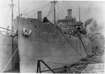 LAKE FRESNO (1919, Package Freighter)