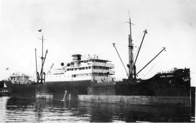 LAKE ORMOC (1918, Package Freighter)