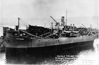 LAKE TRAVERSE (1918, Package Freighter)