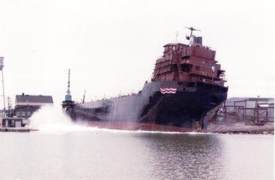 LAKE WABUSH (1981, Bulk Freighter)