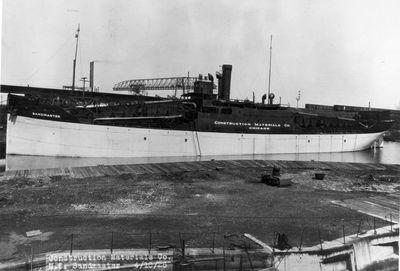 LAKE WEIR (1918, Bulk Freighter)