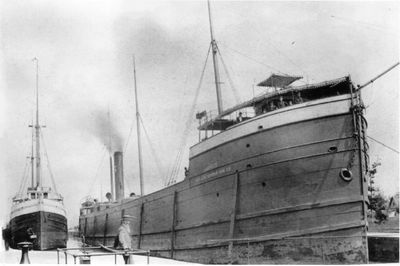 LASALLE (1890, Bulk Freighter)