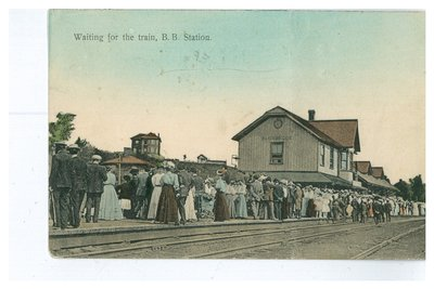 Bracebridge Railway Station 1910