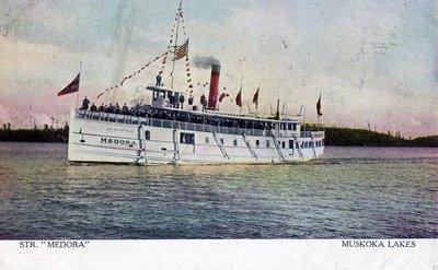 Medora steamboat