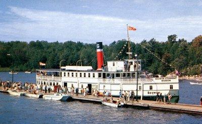 R.M.S. Segwun steamboat