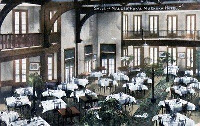 salle a manger royal muskoka hotel