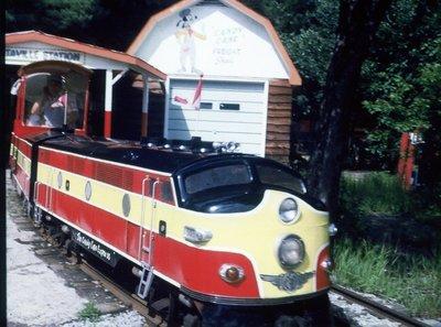 Santa's Village train, Bracebridge