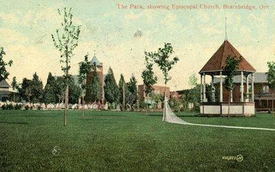Bracebridge Bandstand, Memorial Park