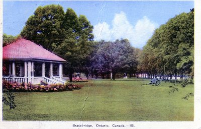 Second Bracebridge Bandstand, Memorial Park