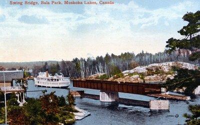 Swing Bridge at Bala