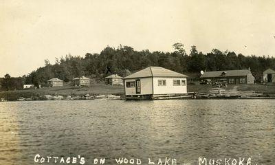 Cottages on Wood Lake, Muskoka
