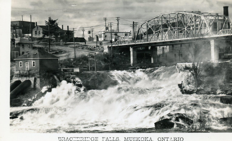 Bracebridge Falls, Muskoka, Ontario