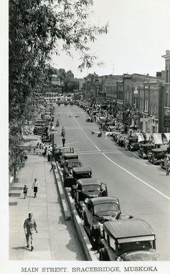 Main Street, Bracebridge, Muskoka