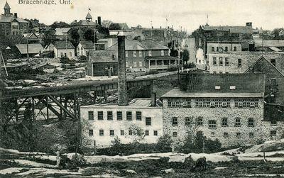 Bracebridge, Ont - postmark August 1911