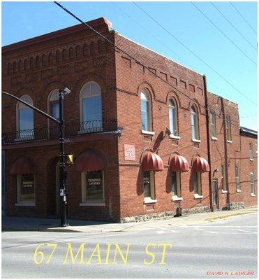 67 Main Street or 3 Division Street, Brighton, Ontario
