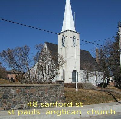 St. Paul's Anglican Church, 48 Sanford Street, Brighton, Ontario