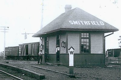 Canadian Northern Railway Station, Smithfield Ontario