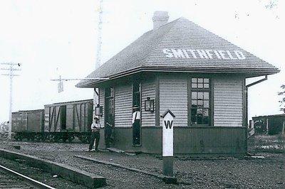 CNR Station Smithfield Ontaio