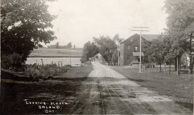 Postcard from William Latimer's store
