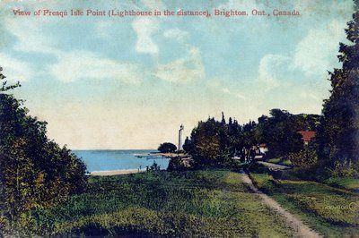 Presqu' Isle Point Postcard