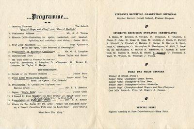 Brighton High School Commencement 1931