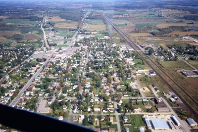 Downtown Brighton From The Air