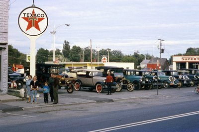 Car Show, Applefest 1956
