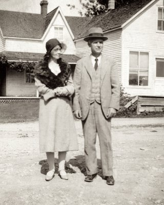 <b><font size = 4>Mr. & Mrs. George Bowen</b></font><BR>