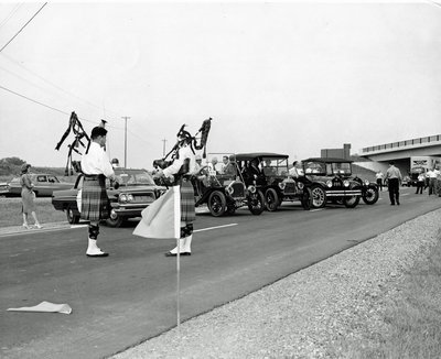 Opening of Highway 401 from Port Hope to Brighton