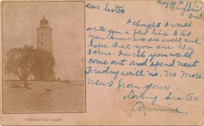 Presqu'ile Postcard 005