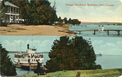 Presqu'ile Postcard 014