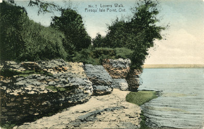 Presqu'ile Postcard 0015