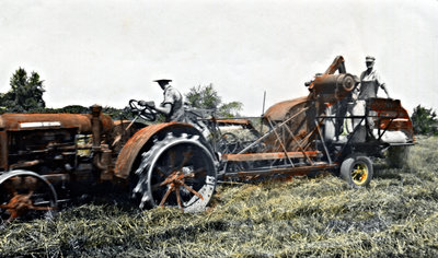 Tractor and Combine 1940's