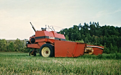 Case self propelled Swather