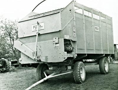 Fox harvester wagon