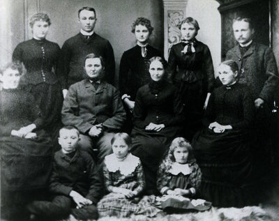William and Catherine Flindall's children