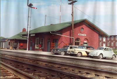 Grand Trunk Station in Colour