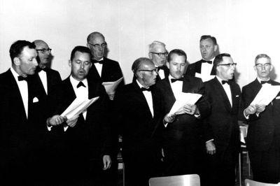 United Lodge # 29 Choir 1971