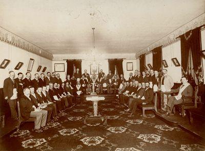 United Lodge # 29 Group Photo 25 May 1899