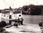 The Wanita Docking, circa 1905.