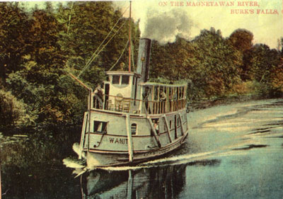 The Wanita on the Magnetawan River, circa 1913