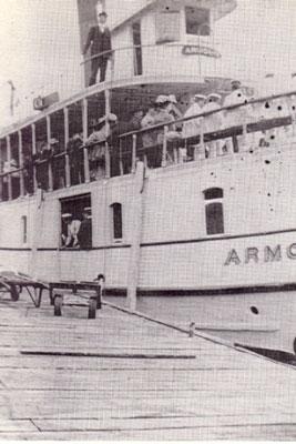 The Armour Casting Off, circa 1915.