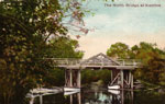 The North Bridge at Katrine Painted Postcard, circa 1910