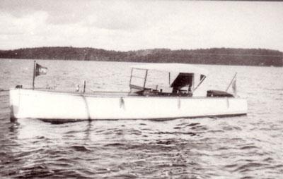 Heebner's Boat No. 2,  Lake Cecebe, circa 1929