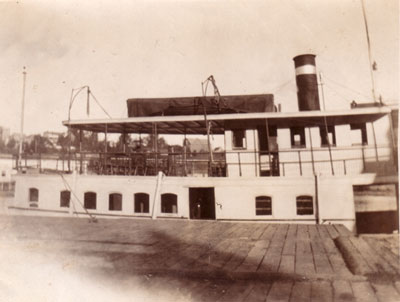 The Steamer Glenada at Dock, circa 1921